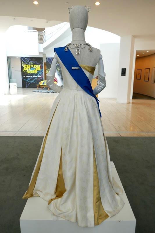 Queen Elizabeth Ambassador Ball Gown Crown season 2