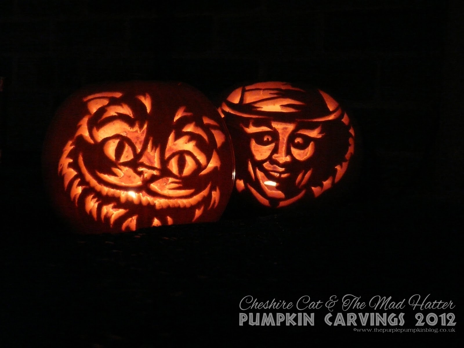 halloween pumpkin carvings 2012