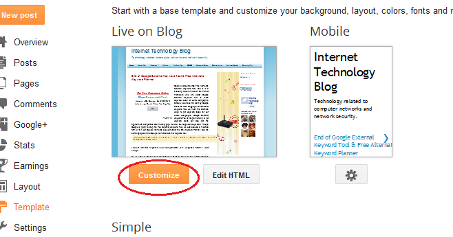 How to Change Link Color On Blog Posts From Blogger Template Designer