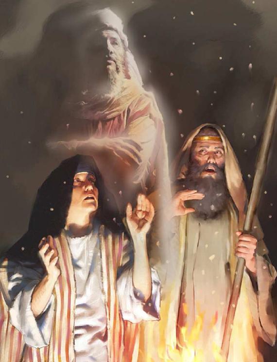 O caso de Saul e a feiticeira de En-Dor
