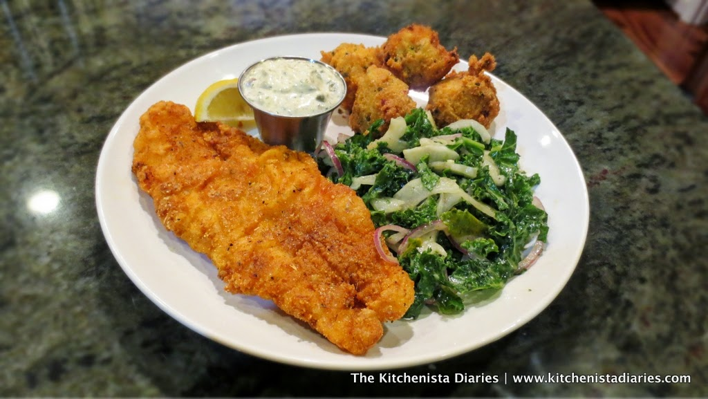 Southern fried fish hush puppies the kitchenista diaries for Cliffords fish fry