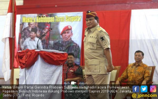 Prabowo Malah Rugi soal Selang Cuci Darah Dipakai 40 kali