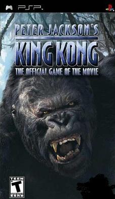 peterjacsonjkinjkonpsp - Peter Jacksons King Kong PSP