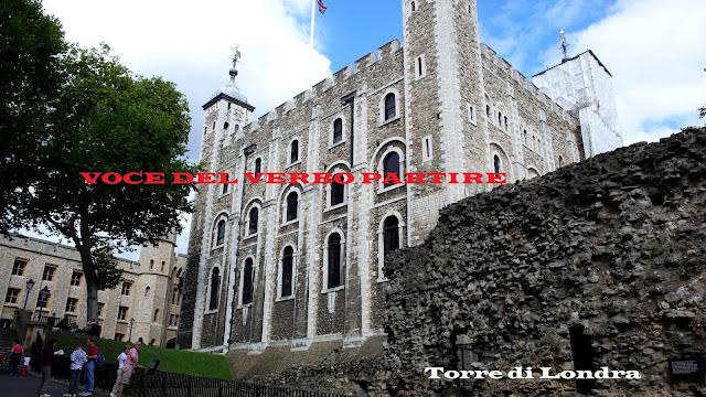 DIARIO DI VIAGGIO IN INGHILTERRA: TORRE DI LONDRA
