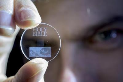 Disk Kaca 5-D ini Dapat Menyimpan Terabyte Data