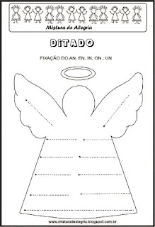 Treino ortográfico an de anjo