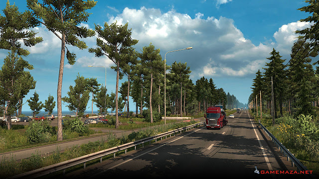 Euro Truck Simulator 2: Beyond The Baltic Sea Gameplay Screenshot 3