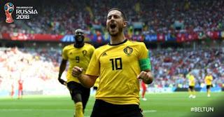 Belgia vs Tunisia 5-2 Video Gol Highlights - Piala Dunia 2018