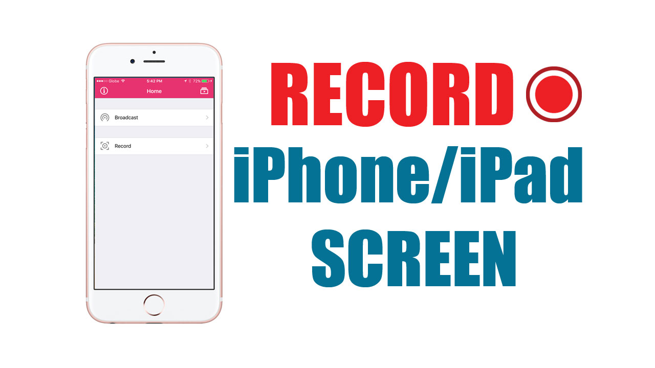 How to Record Your iPhone or iPad Screen For Free Without