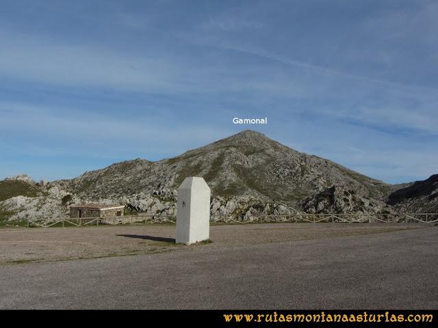 Ruta por el Aramo: Desde el aparcamiento del Angliru, la Gamonal