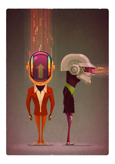 Ilustraciones digitales por James Gilleard