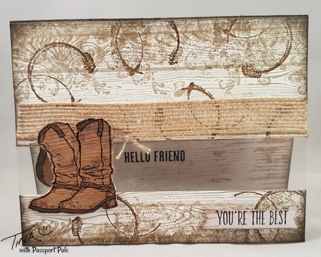 Passport Pals customer appreciation, Country Livin', Stampin'Up!, Frenchiestamps
