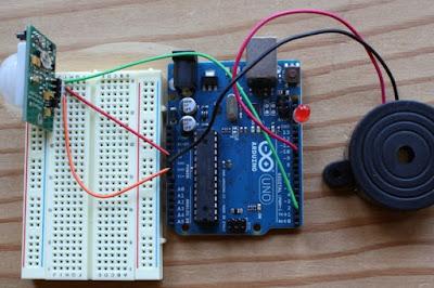 Sensor Pir dengan Arduino