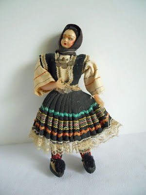 old mystery doll