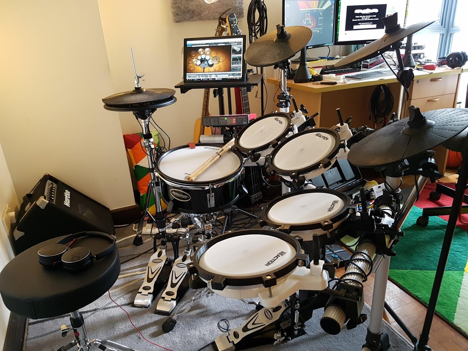 DIY 3D-Printed Electronic Drumkit : Update