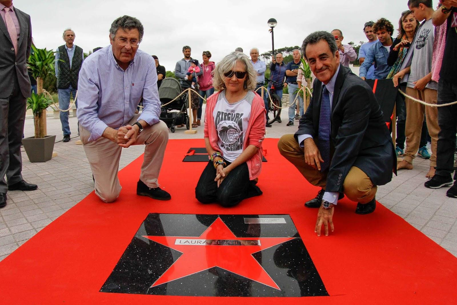 Paseo de las Estrellas del Surf - Laura Revuelta y los Pioneros del Surf - Somo
