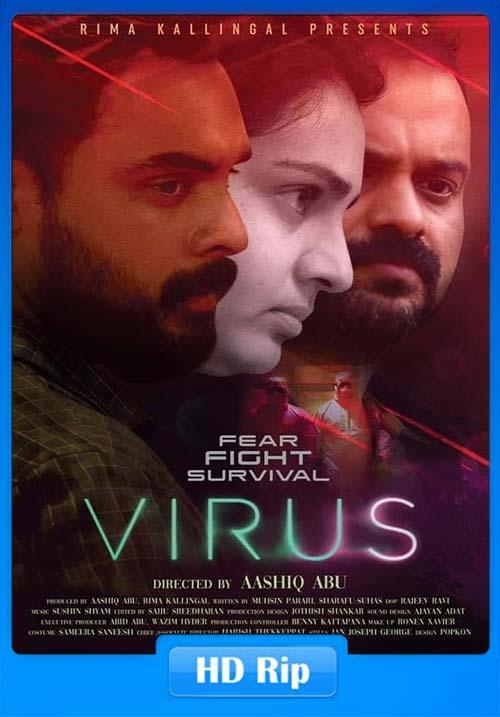 Virus 2019 Malayalam 720p DVDScr x264 | 480p 300MB | 100MB HEVC Poster