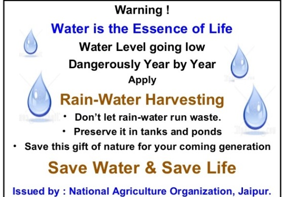 Swatis reverie save water save life slideshare altavistaventures Images