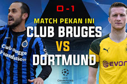 Cuplikan Gol Brugge vs Borussia Dortmund 0-1