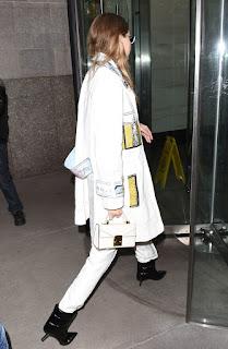 Gigi Hadid Out At Fashion Week In New York