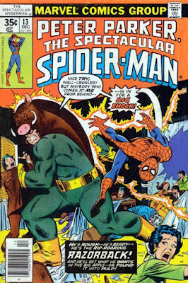 Spectacular Spider-Man #13, Razorback