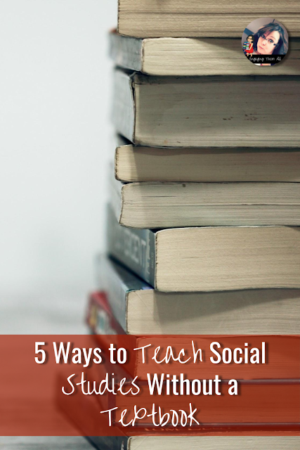 5 Ways To Teach Social Studies Without a Textbook #activities #students #middleschool #socialstudies #elementaryschool #reading #walktheroom #gallerywalk