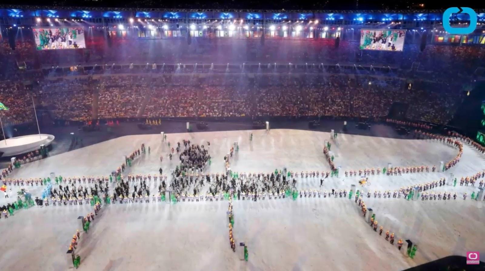 RIO OLYMPICS OPENING CEREMONY 16