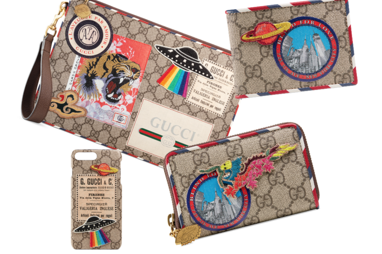 Gucci's Courrier Collection