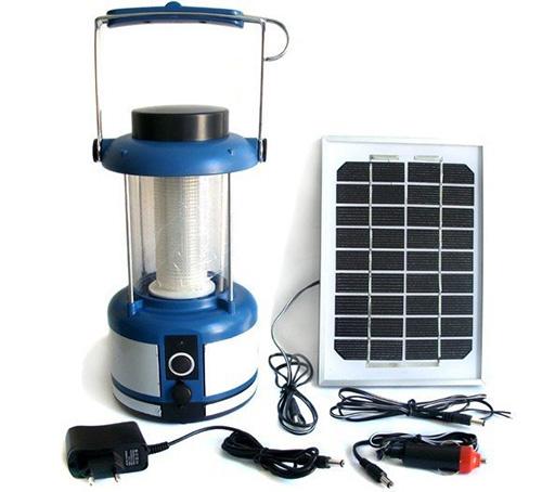 Lanterne solaire puissante