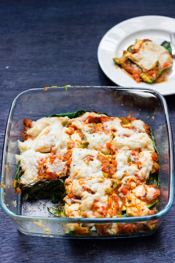 One Teaspoon Of Life Vegan Zucchini Kale Lasagna