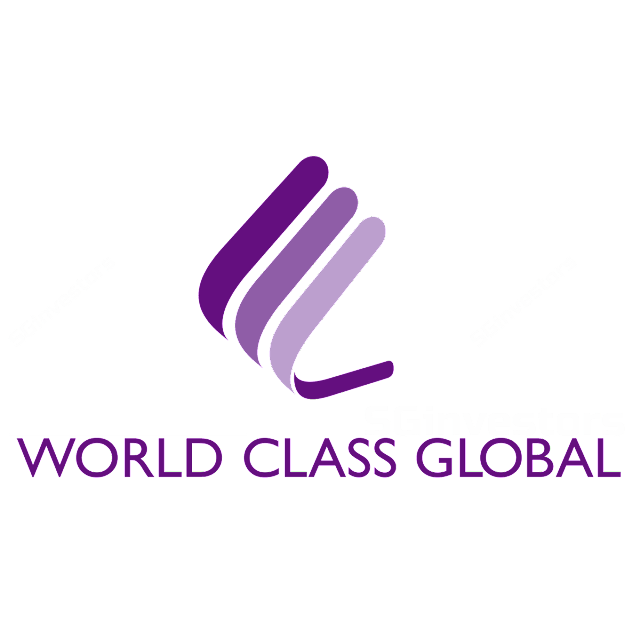 WORLD CLASS GLOBAL LIMITED (1E6.SI) @ SG investors.io