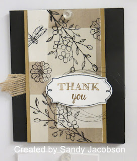 Guest Artist: Sandy Jacobson + 5 Glossy Cardstock Techniques