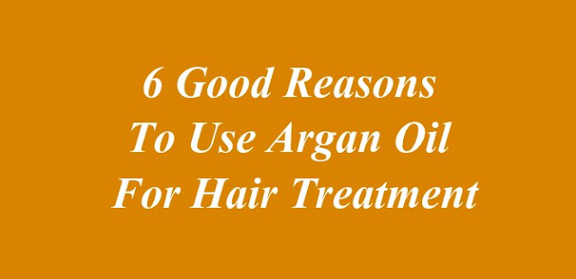 Argan Oil For Hair Treatment