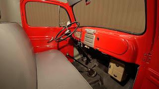 1950 Mercury M-47 Pickup Dashboard