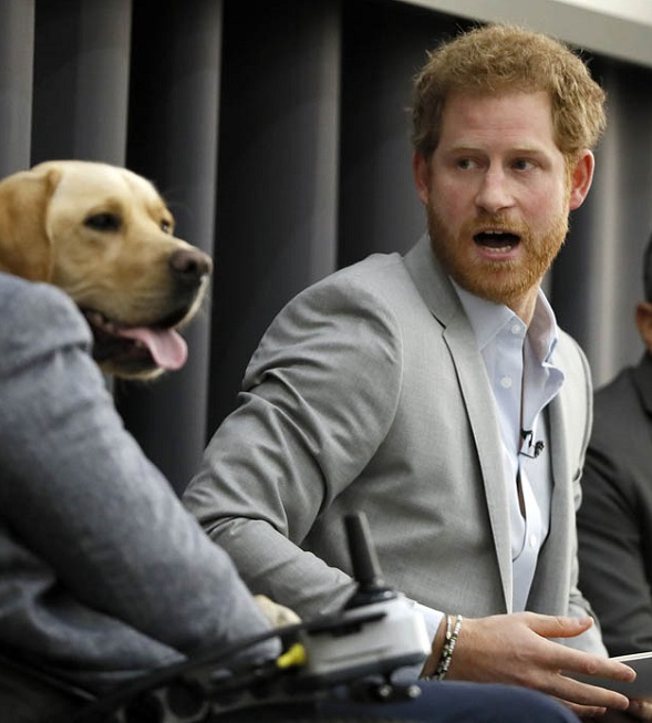 VJBrendan.com: Prince Harry At The Veterans Mental Health