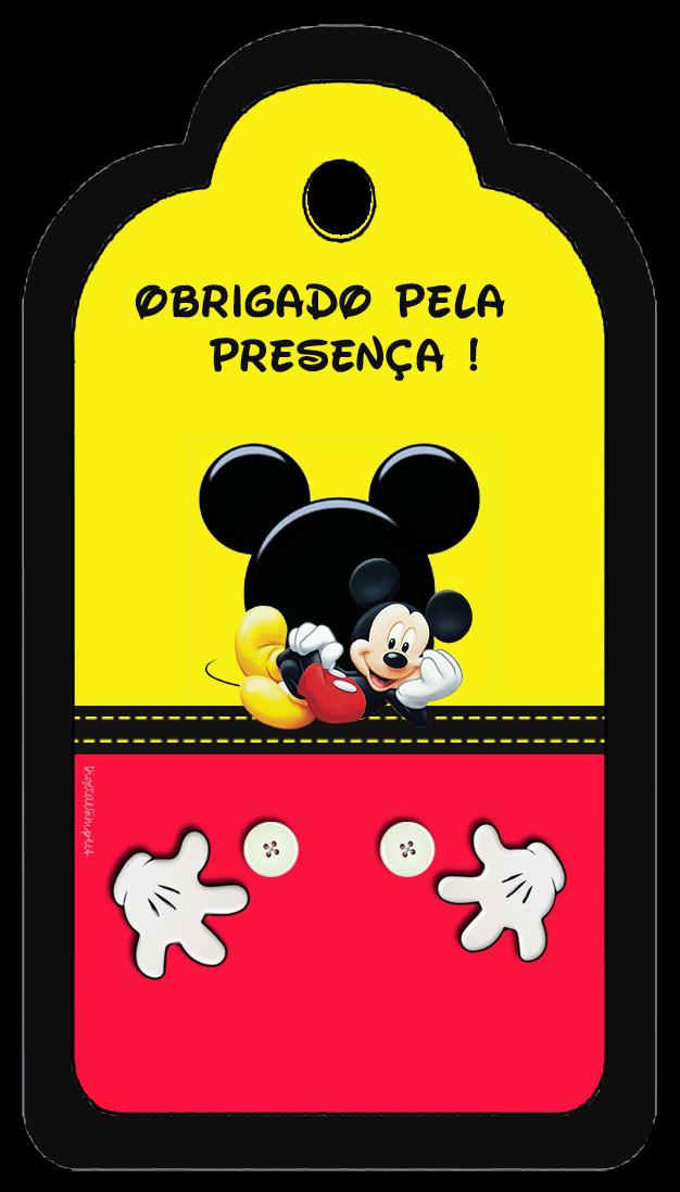 Kit Aniversario De Personalizados Tema Mickey Mouse Convites