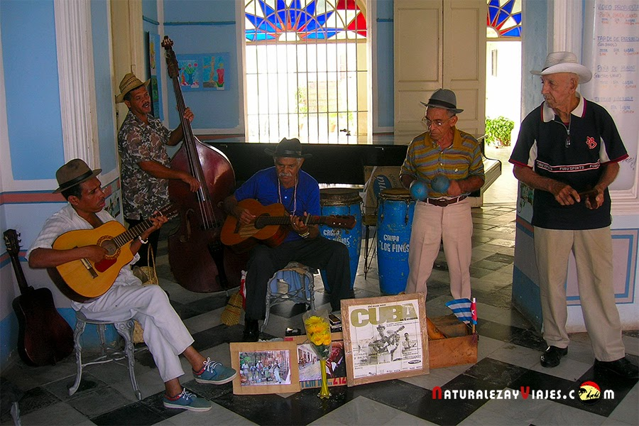 Músicos en Cuba