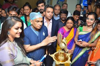Keerthy Suresh launches Dr. Agarwal's Eye Hospital at Velachery