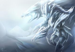 Frost Shyvana Fanart by Vegacolors