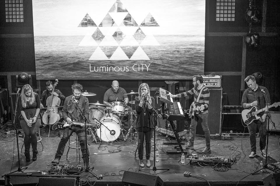 Luminous City - Luminous City (2014) live performance on stage