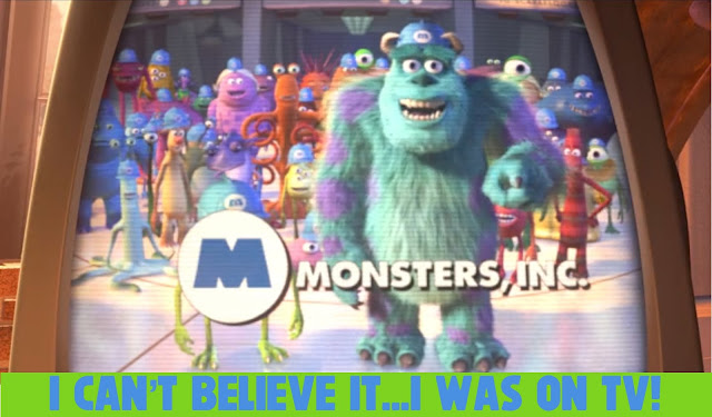 Mike and Sulley on Monsters Inc TV Commercial