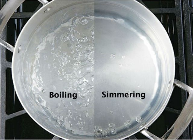Culinary Training Program Moist Heat Cooking Boiling