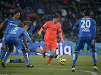 Prediksi Skor Barcelona vs Getafe 29 April 2015