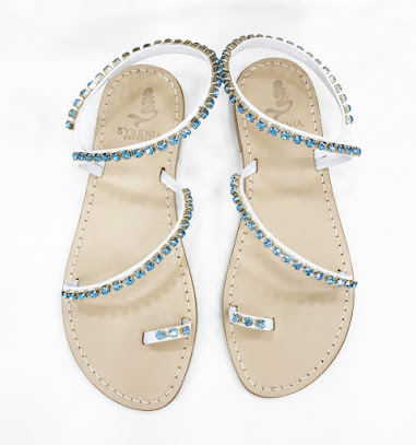 Luxor - Aquamarine Sandals