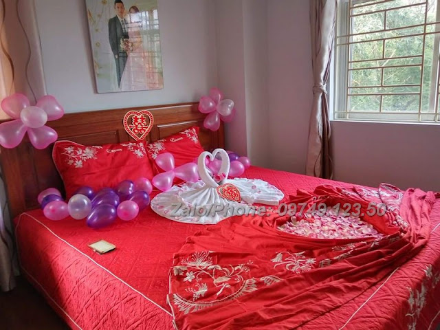 Trang trí phòng cưới tại Nguyễn Cơ Thạch - Mỹ Đình 03