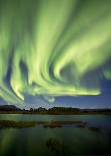 Aurora Over Whitehorse, Yukon On Sept 3