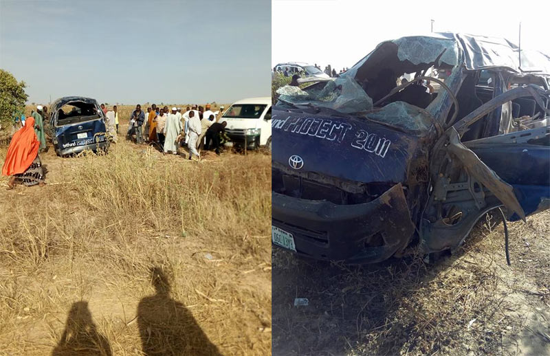 Yobe College of Education loses 8 staff as bus somersaults after tyre puncture