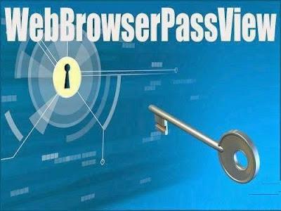 لا تقلق اذا نسيت أي كلمة سر على حاسوبك , برنامج WebBrowserPassView يحل المشكلة