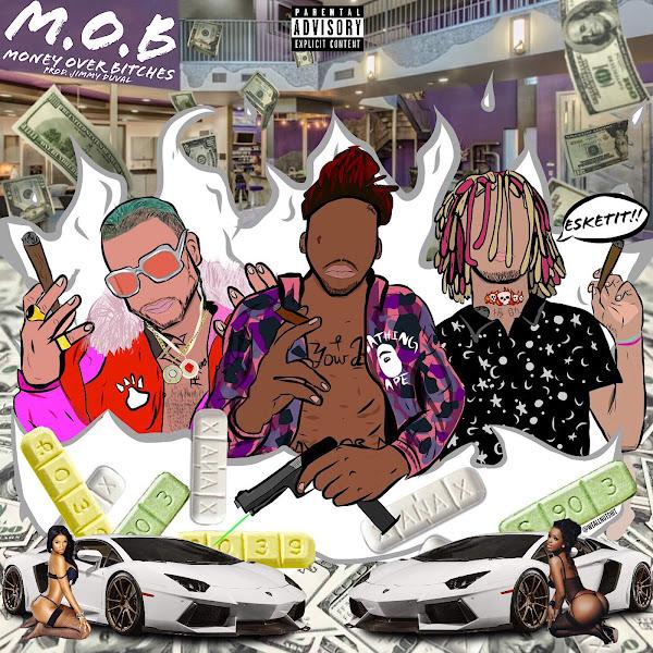 Splash Zanotti - M.O.B. (feat. Lil Pump & Riff Raff) - Single Cover