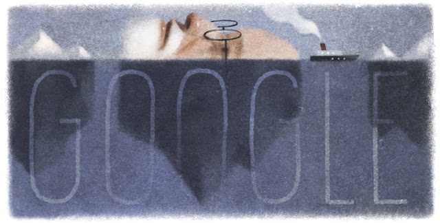 Sigmund Freud's 160th Birthday - Google Doodle